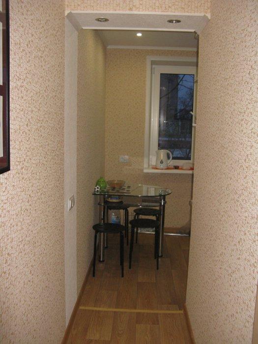 Фото кухни и коридора дизайн в хрущевке