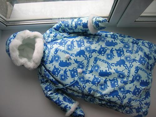 Комбинезон кокон для новорожденных