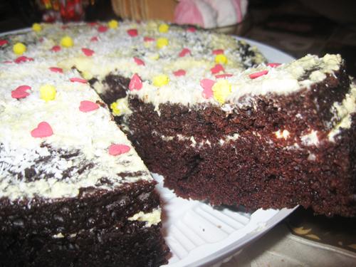 Торт Черная магия