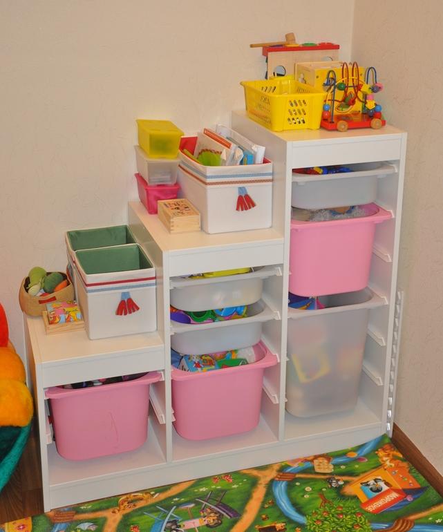 Стеллаж для хранения игрушек своими руками 8335