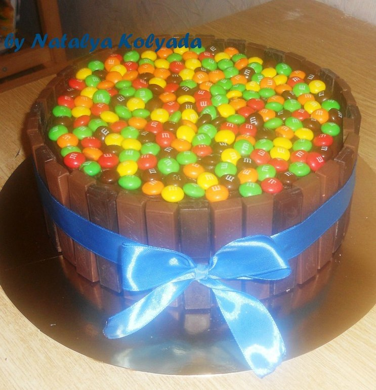 Торт с маком бисквитный фото 1