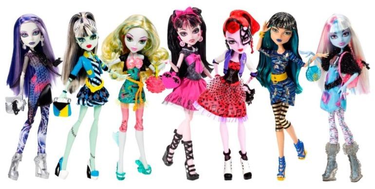 Куклы Монстр Хай в наличии ! Любая кукла 1500 руб !