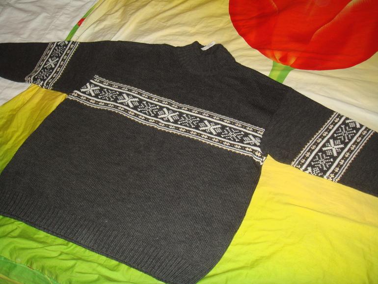 Новый Свитер мужской MAN knited campagnolo, размер L
