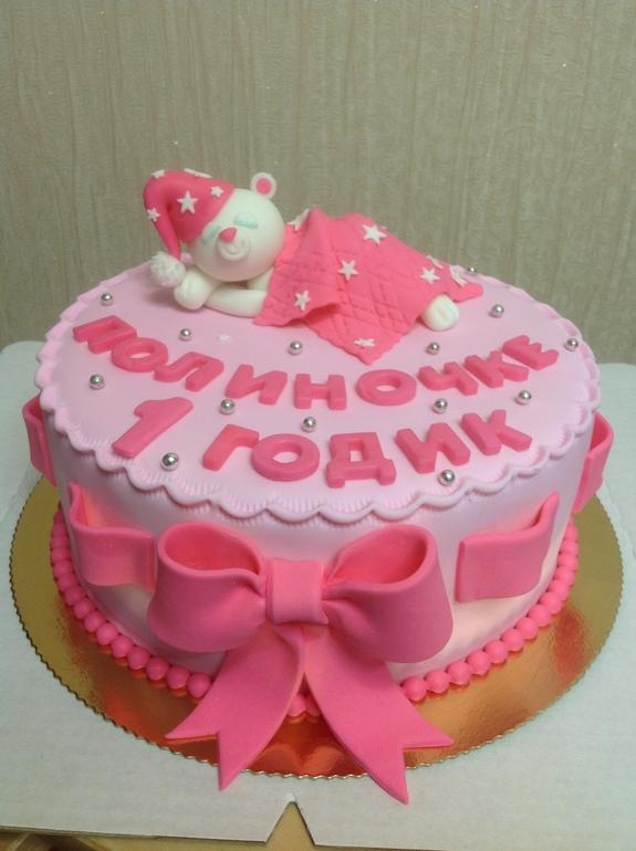 Фото круглых тортов для детей