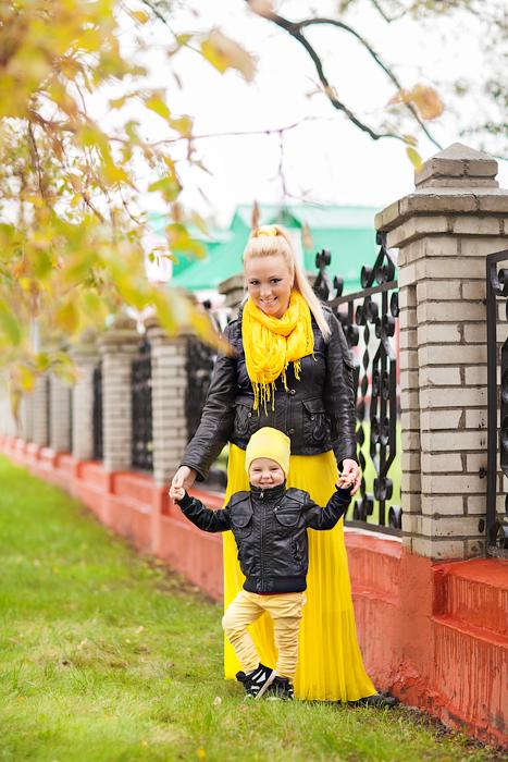 Осень прекрасной Елены и Мишутки