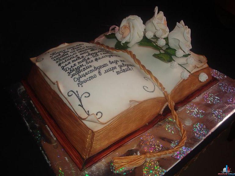 Торт с творожно маковой начинкой фото 6