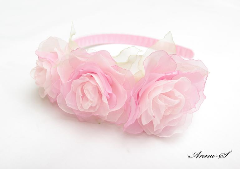 """Ободочек """" Розовые грёзы """""""