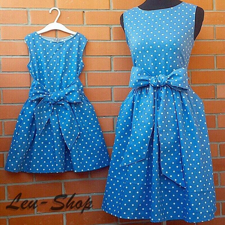 Как сшить летнее платье для дочки
