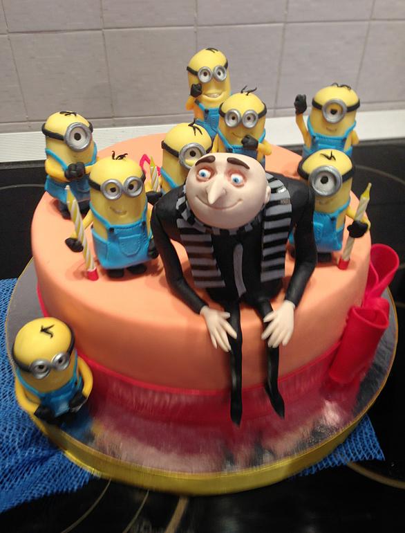 Торт гадкий я своими руками 3