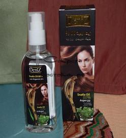 Масло для волос DENIZ 3-в-1 жир кобры 80% + масло арганы 20%