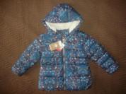 Новая, утепленная курточка NEXT д/д на 110р.