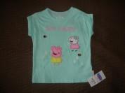 "Новая футболкаMarks&Spencer ""Свинка Пэппа""110-116"