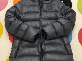 Пуховик Alessandro Manzoni + утепленные брюки Zara