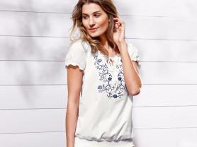Красивая рубашка,блузка с вышивкой от Tchibo.рус 4