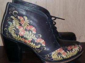 ботинки на байке нат кожа р 37