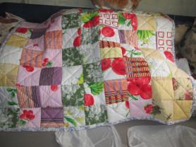 Детское лоскутное одеяло ручной работы