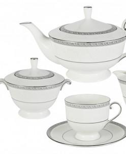 Чайный сервиз из 17 предметов на 6 персон Луна