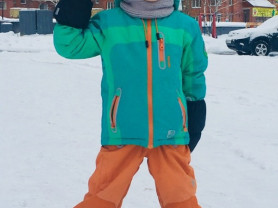 Зимний (260-280гр) костюм Taffalar, б/у, размер 11