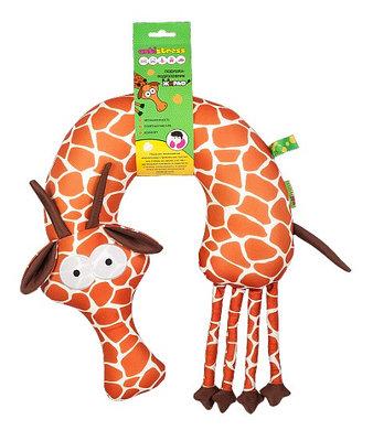 Подушка-подголовник антистресс Жираф