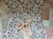 Платье туника лёгкая с карманами р.40-42 цвет нежн