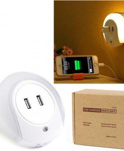 USB-зарядка с подсветкой