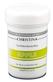 Christina Sea Herbal Beauty Mask Green Apple для жирной кожи