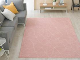Новый Розовый рельефный ковер Triangle 150 x 200см