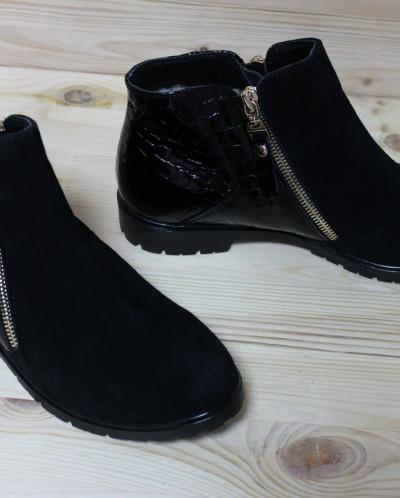 Стильные кожаные ботинки. Модель 2017!