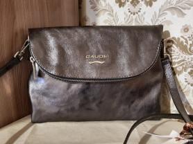 Новая сумка клатч кроссбоди Италия металлическая