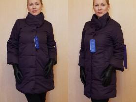 Новая весенне - осенняя куртка 48 фиолетовая