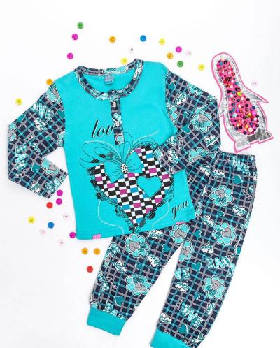 Пижама для девочки Пингвин