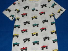 Новая футболка с коротким рукавом H&M, 122-128 см
