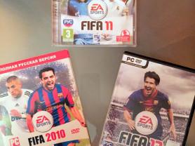 Игра fifa 2010,2011 и 2013