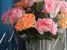 Букет искуственных роз (17шт)