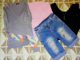 Пакет одежды для девочки всё новое р. 40-42