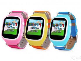 Часы для детей с определением местоположения и функцией вызова.