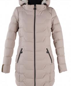 04-0999 Куртка демисезонная (синтепух 250) Плащевка Бежевый