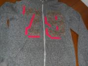 Теплая кофта с капюшоном, размер 42-44