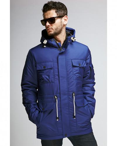Куртка мужская демисезонная 078(178)Nikolom синяя (Беларусь)
