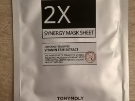Маска тканевая 2X SYNERGY MASK SHEET, Корея