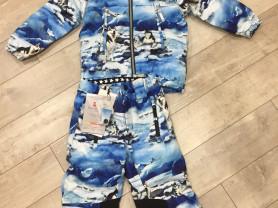 новый зимний костюм Molo Husky, размер 104