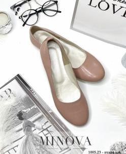 Туфли №1005.23-Пудра Лак