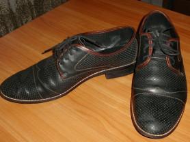 Туфли натуральная кожа Pierre Cardin Paris р.43-44