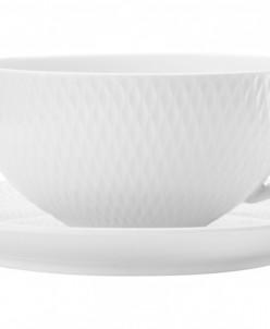 Чашка с блюдцем Даймонд без инд.упаковки Maxwell & Williams,