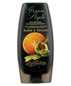 Liv Delano Green Style Бальзам-кондиционер Бамбук и апельсин