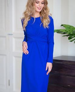 Платье Джина цвет электрик (П-194-2)