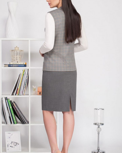 Ивелта плюс 3598 костюм юбочный