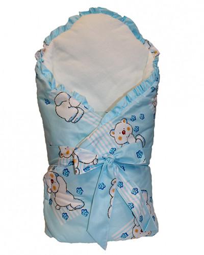 Конверт-одеяло Bell Bimbo 163003 голубой (Беларусь)