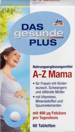 DAS gesunde PLUS A-Z Mama Витамины для беременных и кормящих