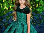 Шикарное платье Изумруд от PICCINO BELLINO